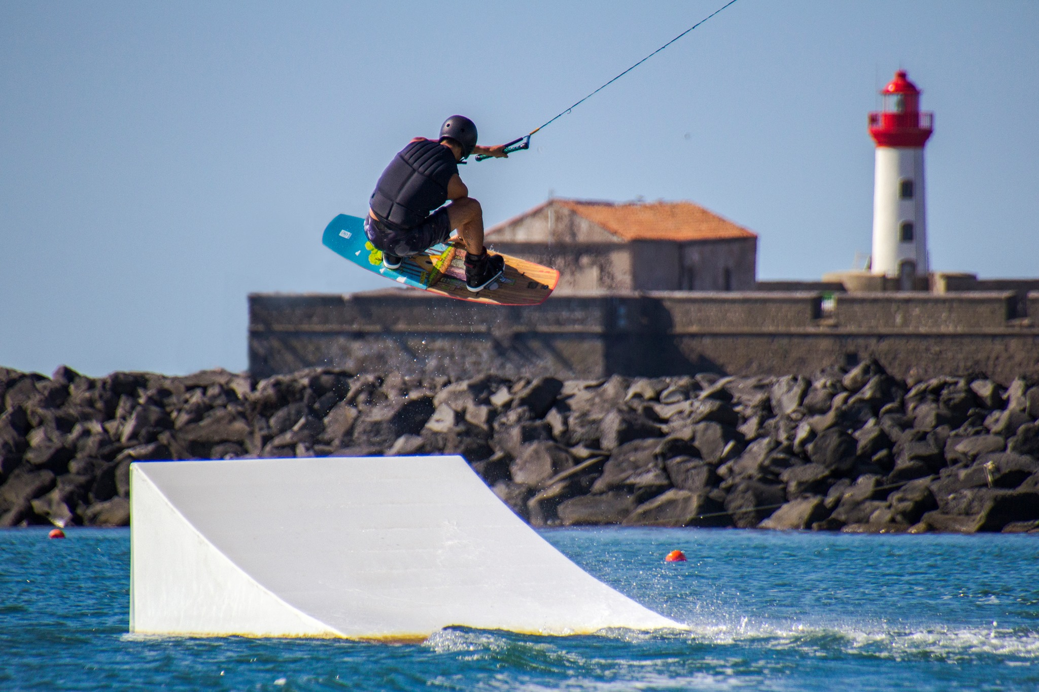 Wake Beach - Téléski et Wakepark au Cap d'Agde