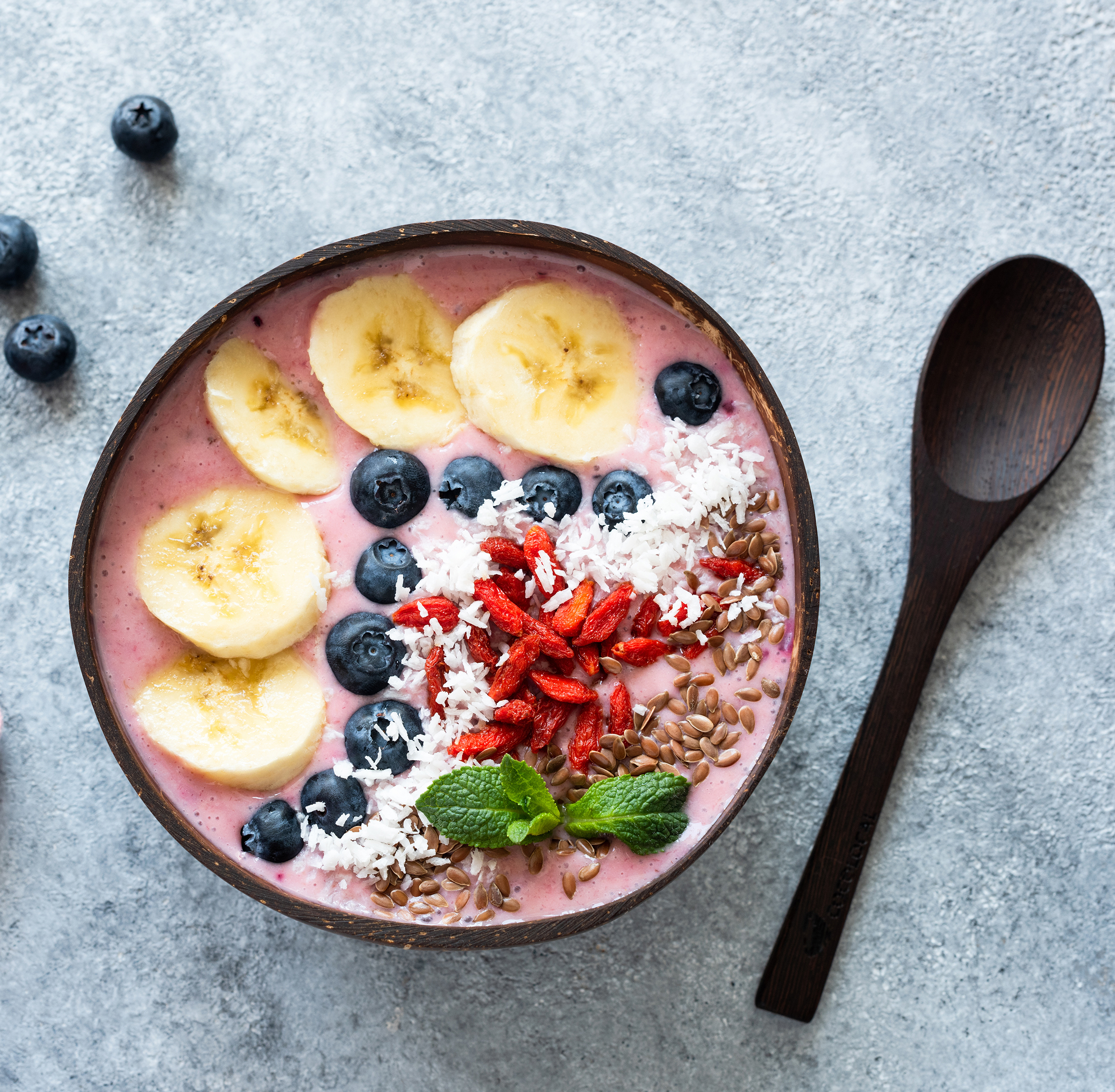 Açai bowl et Healthy Food à Wake Beach Cap d'Agde