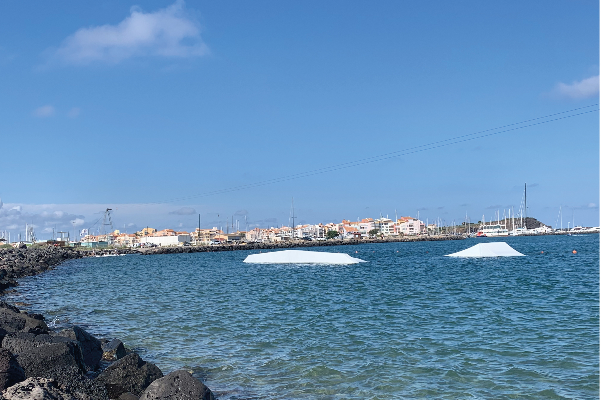 Modules au wakepark Wake Beach Cap d'Agde